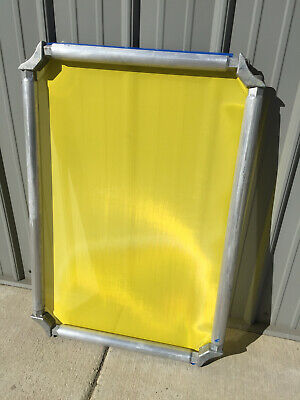 4.00 Screen Printing Roller Frames With Excellent Mesh - 25 X 36