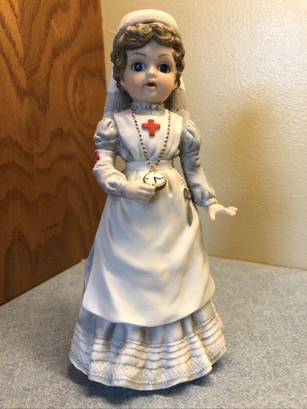 VINTAGE The Victorians Nurse Clara by Enesco Figurine  LIMITED EDITION 1981