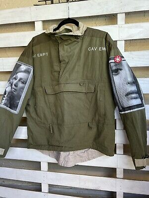 Cav Empt Icon Pullover Green Size M