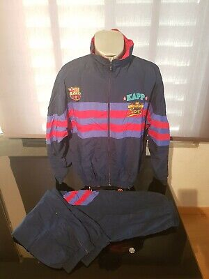 582c8519933f CHANDAL TRACKSUITE VINTAGE 90'S KAPPA FC BARCELONA TALLA L segunda mano  Barcelona