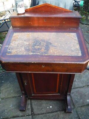 Antique Victorian Davenport Writing Desk