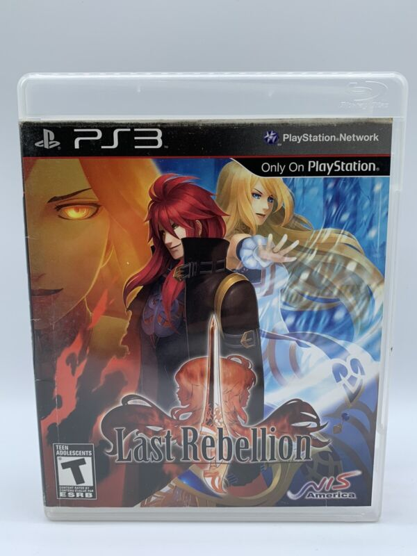 Last Rebellion (Sony PlayStation 3, 2010) PS3 Tested Rare