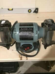 Delta bench grinder, great shape