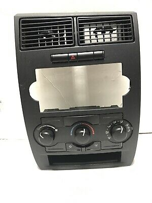2006-2007 DODGE CHARGER A/C TEMPERATURE CLIMATE CONTROL: INCLUDES BEZEL! OEM
