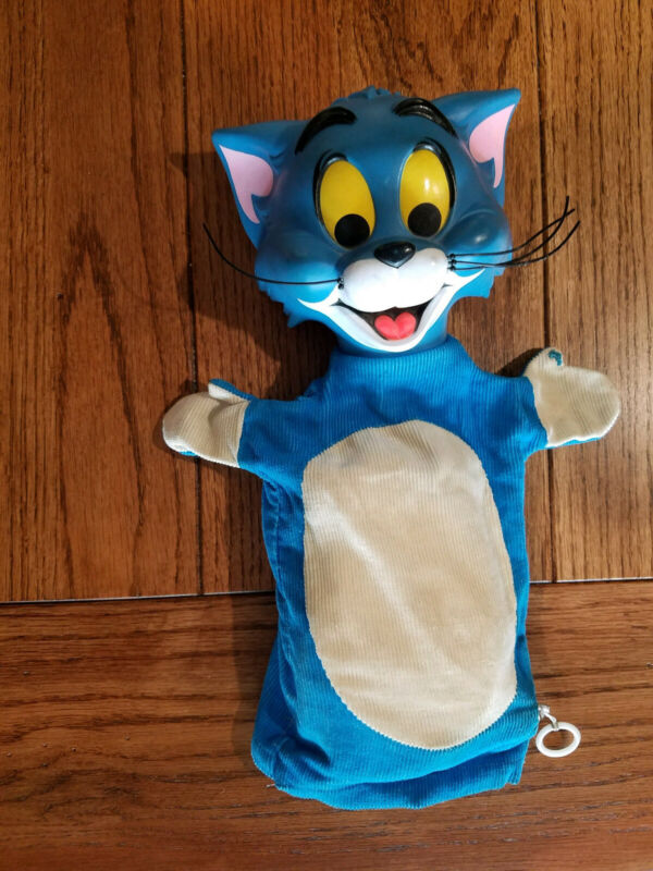 Mattel 1965 Vintage Tom and Jerry Pull String Puppet