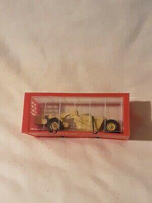 Vintage Mini Dinky Michigan Scraper 98 Die Cast Vehicle In Original Package