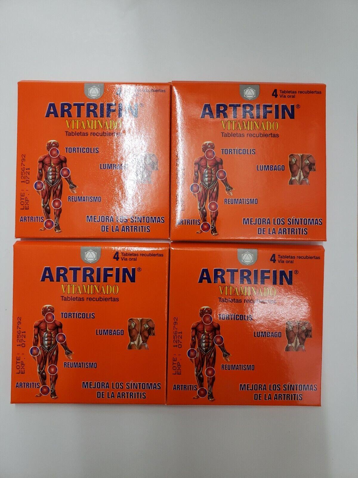 16 pastillas de Artrifin  Vitaminado