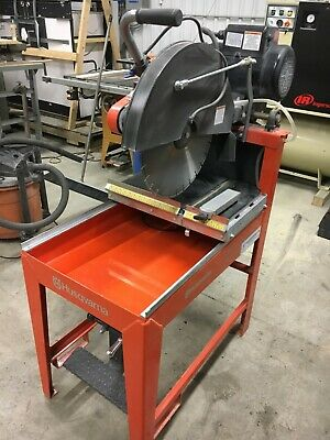 Husqvarna Ms510 20blade 5hp-1ph Wet Style Frame Mount Concrete Blocktile Saw