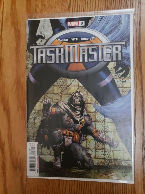 Taskmaster 3 Valerio Giangiordano 1st Print Cover A 1st App of Taegukgi Marvel
