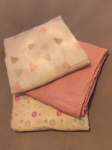 Aden & Anais Muslin Cotton Swaddling Baby Blankets