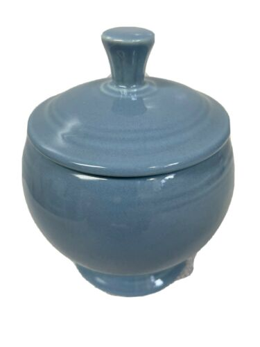 FIESTA INDIVIDUAL COVERED SUGAR PERIWINKLE BLUE FIRST QUALITY. RETIRED - $34.95