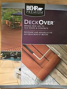 3 gallons of Deck Over
