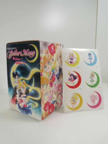 039-Pretty Guardian Sailor Moon Collection 1 Volume 1-6 Books With Stickers