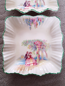 J & G Meakin England fine bone china butter dishes, jewellery tra Ashwood Monash Area Preview