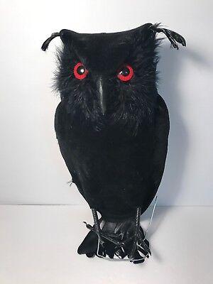 Martha By Mail Black Halloween Owl 13