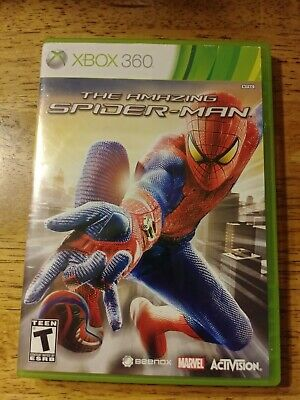 The Amazing Spider-Man (Microsoft Xbox 360, 2012) Complete