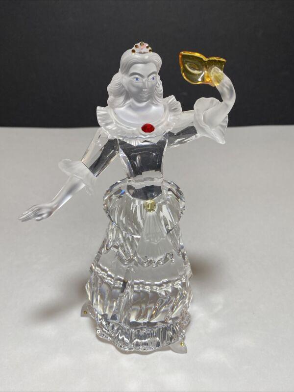 Swarovski Crystal Figurine SCS Annual Edition Masquerade Columbine No Box