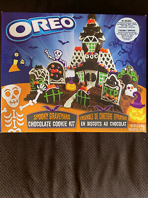 NEW OREO Halloween Spooky Graveyard Chocolate Cookie Kit Fast Shipping