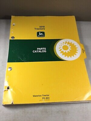John Deere 5010 Tractor Parts Manual