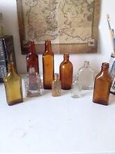 Vintage glass bottles set Underwood Logan Area Preview