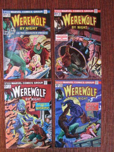 Werewolf By Night Lot of 15 Higher Grade #14-43 Glossy