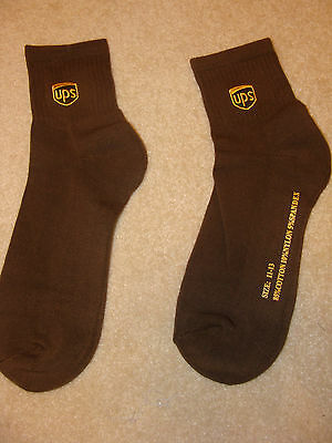 UPS Socks United Parcel Service Sucks. Anklet Socks. Sock Size 11-13. Brwn So