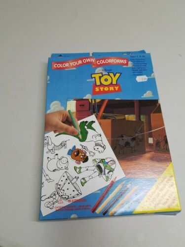 Toy Story  color your own colorforms