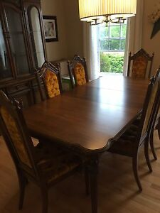 MOVING SALE! Dining set tables love seat and more