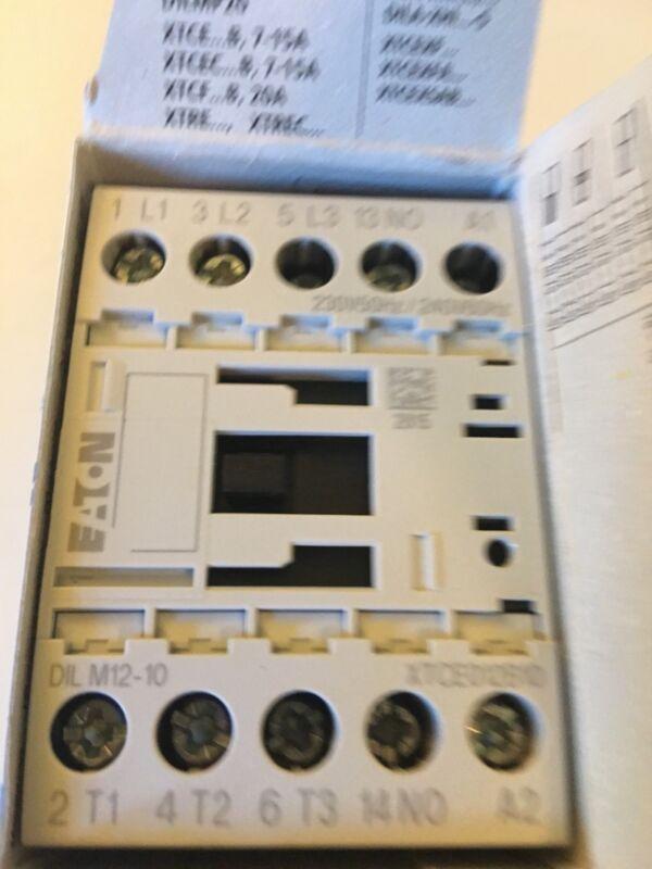 MOELLER. EATON CONTACTOR. DILM12-10 220V-240V  DILM