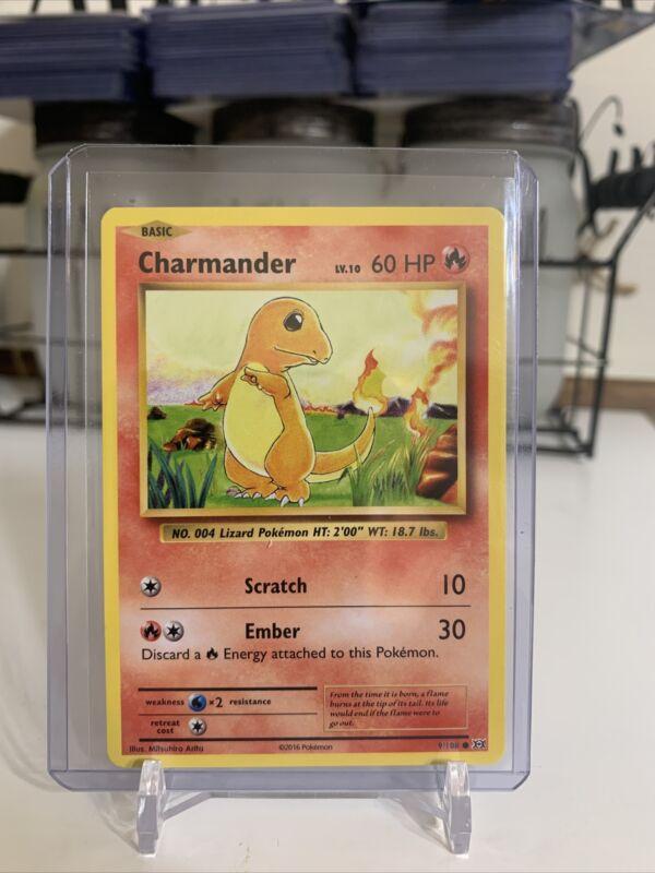 Charmander 46/102 Base Set Wotc 1999 Non-holo Pokemon Card Lp-nm