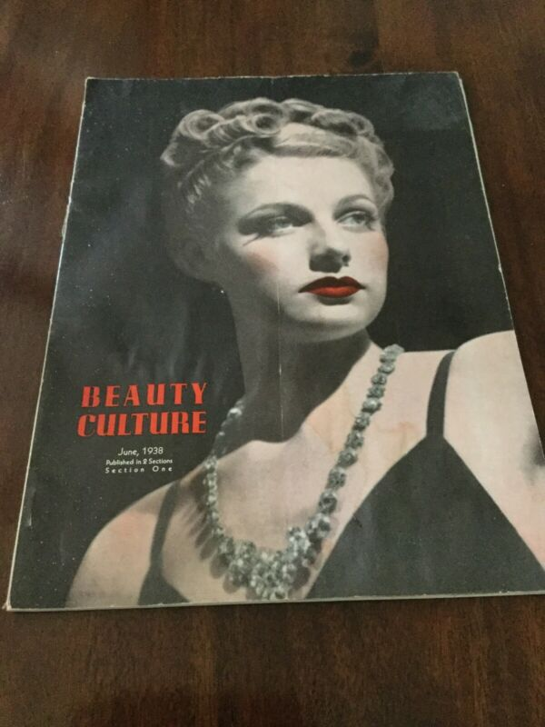 Vintage 1938 Beauty Culture Magazine