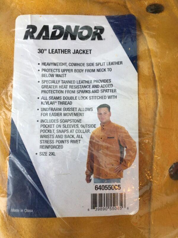 """Radnor 30"""" leather jacket XXL"""
