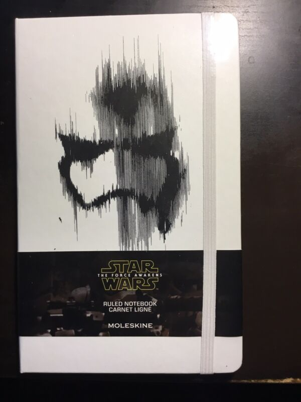 Star Wars Force Awakens Limited Edition Moleskine Ruled Notebook Stormtrooper
