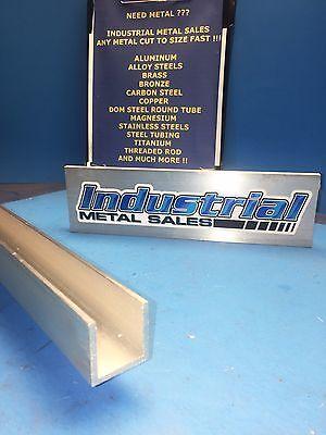 4pcs 1-14 X 1-14 X 6-long X 18 Thick 6063 T52 Aluminum Channel