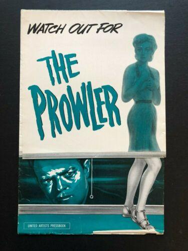 "The Prowler Original Movie Pressbook (1951) - 16 Pages - 11"" x 17""  EX"