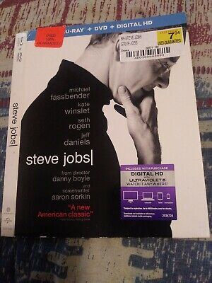 Steve Jobs bluray slipcover ONLY!!!!