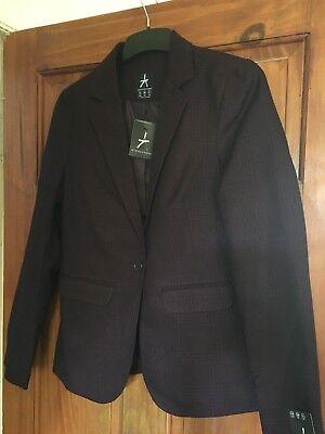 Ladies atmosphere wine jacket size 10 BNWT RRP £19