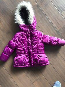 VGUC London Fog winter coat 4T