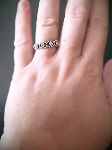 5x Sterling Silver Pandora Stackable Rings!! Mount Barker Mount Barker Area Preview