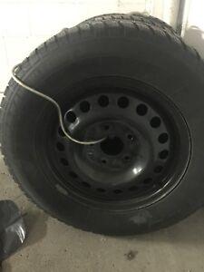 Dodge Grand Caravan Winter Tires on Rims