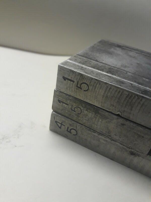Letterpress Expandable Furniture - 3 pieces.