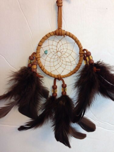 Native American Authentic Cherokee Dream Catcher - 3 inch