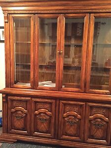 Mint Condition Vintage Hutch and Display