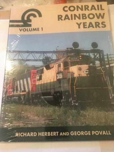 BOOK--CONRAIL RAINBOW YEARS VOLUME 1 ( HERBERT/POVALL)