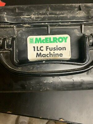 Mcelroy Model 1lc Fusion Machine