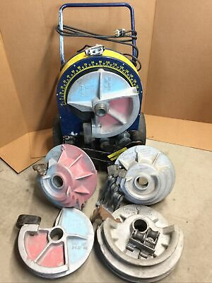 Current Tools 77 Conduit Pipe Bender 12 - 2 Rigid Emt Shoes 555 3 Rollers