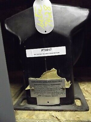 General Electric Potential Transformer 7200-120 Type Pv15fc