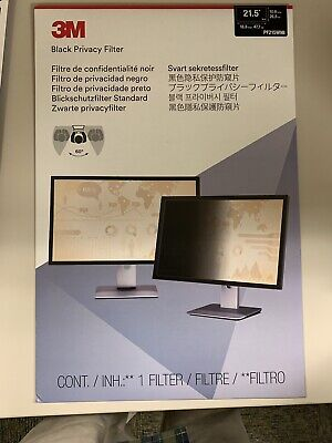 """3M Privacy Filter for 21.5"""" Widescreen Computer Monitor (16:9)"""