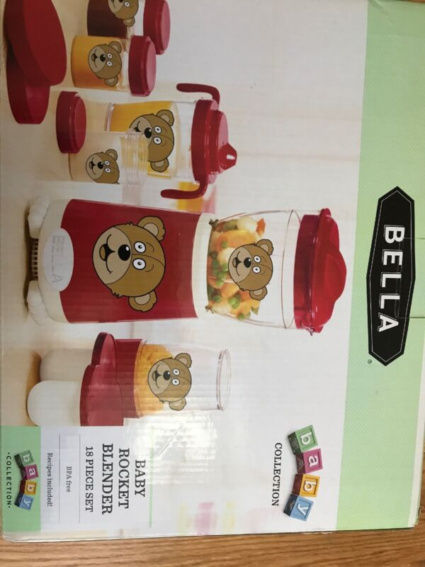Bella Baby Rocket Baby Food Blender
