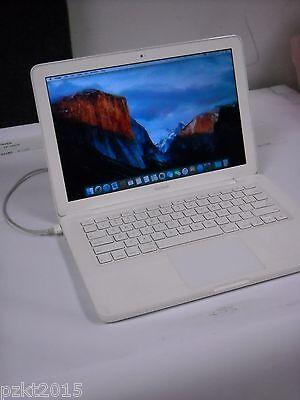 """Apple MacBook 13"""" UNIBODY A1342 INTEL C2D 2.4GHZ 2GB 250GB SIERRA OS 2009/2010"""